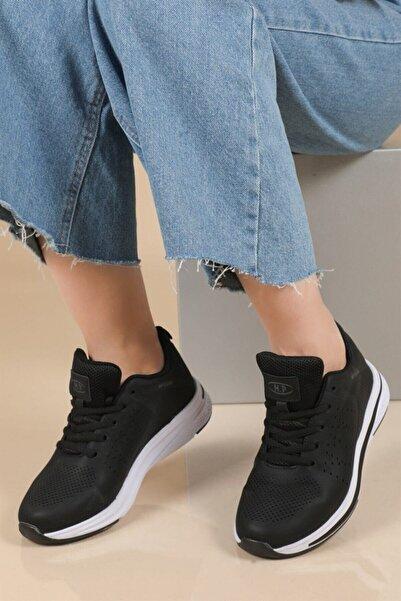 MP 202-1559zn Kadın Spor Ayakkabı Siyah - Beyaz