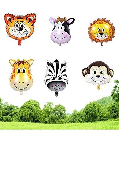 Safari Folyo Balon 6 Adet