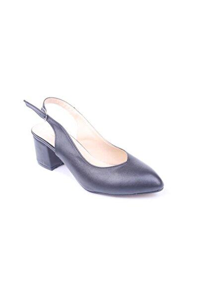 Daisy 962 Kadın 5,5 Cm Topuk Sandalet Ayakkabı