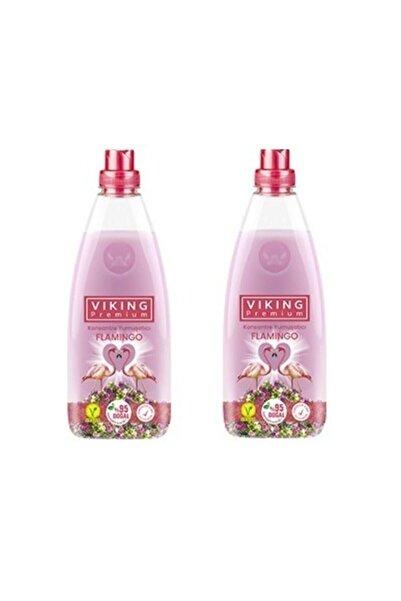 Viking Premium Flamingo Konsantre Çamaşır Yumuşatıcı 1200 Ml 2 Adet