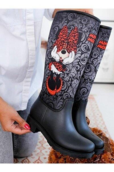 Minnie Mouse Yağmur Çizmesi