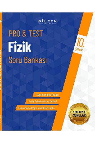 Bilfen Yayıncılık 10.sınıf Pro&test Fizik Soru Bankası