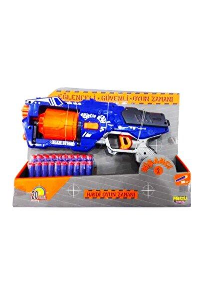 Nerf Co6464 Blaze Storm Stil Yumuşak Sünger Mermi Fırlatan Nişancı 2 Oyuncak Silah 20 Mermili