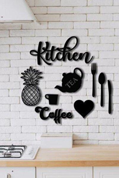 Balımo Kitchen 9 Parça Mutfak Lazer Kesim Ahşap Duvar Dekorasyon Ürünü