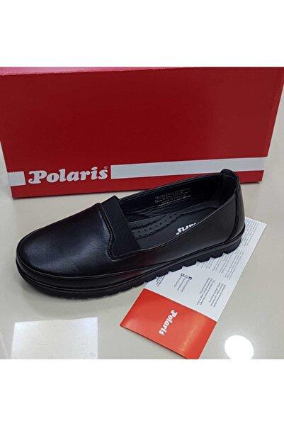 Polaris Ful Ortopedik Taban Hakiki Deri Günlük Anne Ayakkabısı