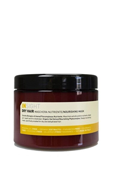 Insight Kuru Saçlar Için Besleyici Maske 500 ml