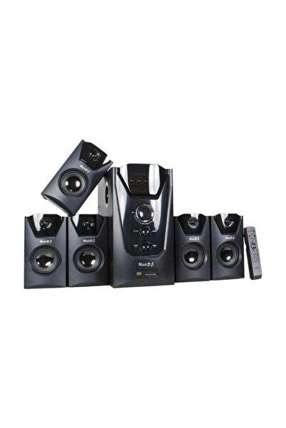 Music D.J MD-9500BT 5+1 Bluetooth Surround Hoparlör Sistemi