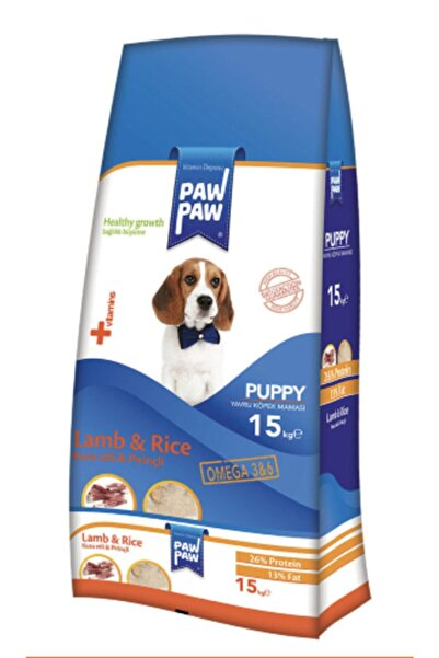 PawPaw Paw Paw - Yavru - Köpek Maması 15 Kg Kuzu&pirinç (skt:23)