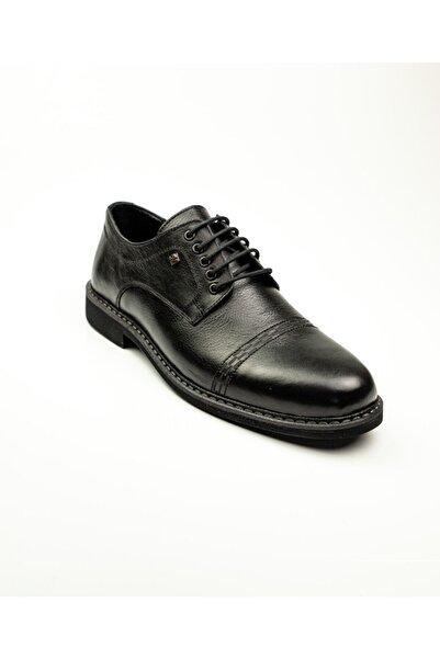 Nobel 959 Siyah Deri Klasik Erkek Ayakkabı Siyah-43