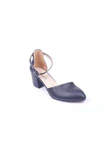 Daisy 984 Kadın 5 Cm Topuk Cilt Ayakkabı