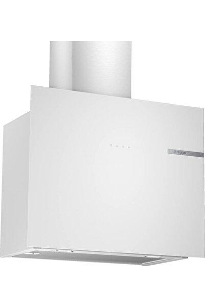 Bosch Dwf65aj20t Duvar Tipi Davlumbaz 60 cm Beyaz Cam Yüzey