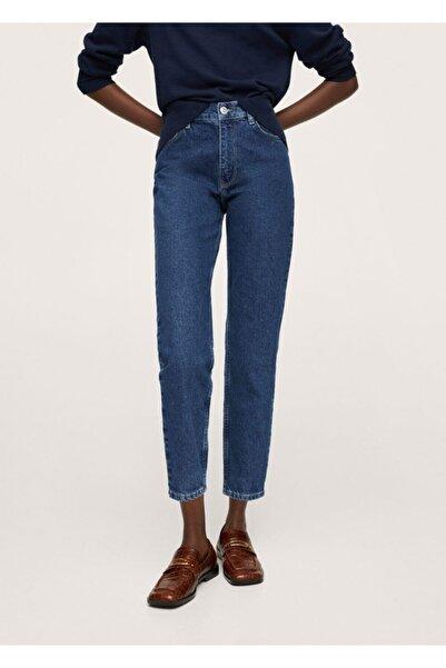 MANGO Woman %100 Koton Mom Jean