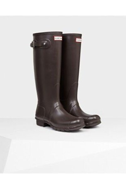 Hunter Original Tall Wellington Rain Boot  Çizme Kahverengi