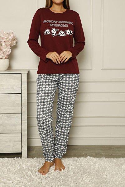 Nicoletta Bordo Kadın Pijama Takımı Pamuklu
