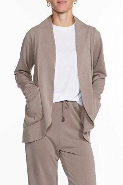 BASIC&CO Luna Vizon Rengi Modal Ceket