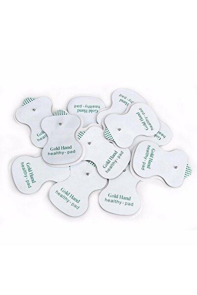 ingatoys Çıtçıtlı Tens Pedi 12 Li Paket - Çıt Çıtlı Elektrod Ped Tüm Modellere Uyumlu Elektro Tens Pedi