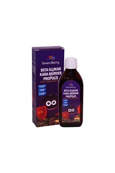 Seven Berry Beta Glukan Kara Mürver Ve Propolis 150 Ml