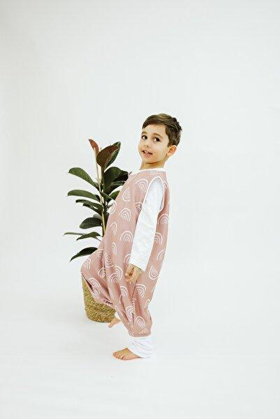 Ninna Kids Organik Çift Kat (1 Tog) - Tarçın Kuşağı - Kışlık & Baharlık Bebek & Çocuk Uyku Tulumu