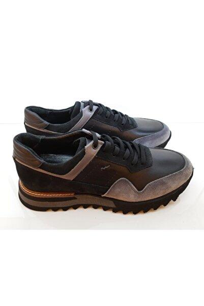 MARCOMEN Erkek Siyah Casual Ayakkabı 12520