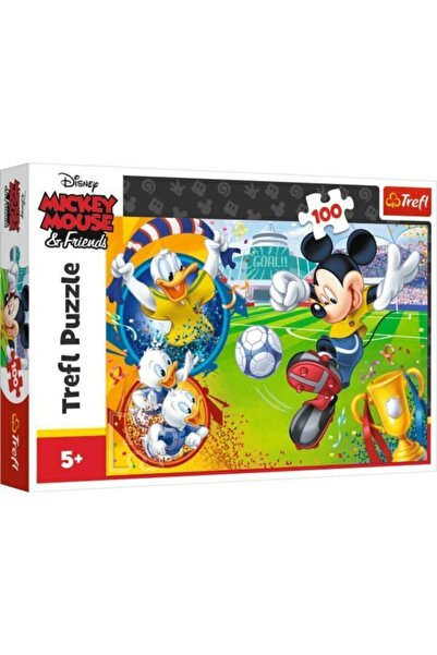 3D Yayınları Mickey Mouse On The Field 16353  100 Parça