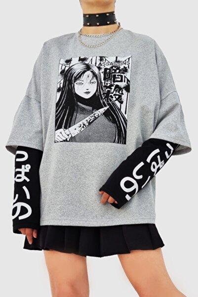 Carpe Gri Killer Girl Oversize Sweatshirt