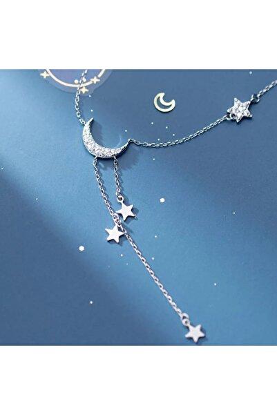 İneffable Store Gecenin Işıkları Ay Yıldız Kolye