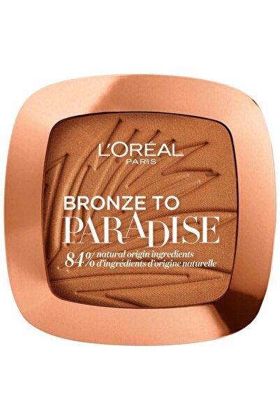 L'Oreal Paris Bronzer Allık Pudra - Bronze To Paradise 03 Back To