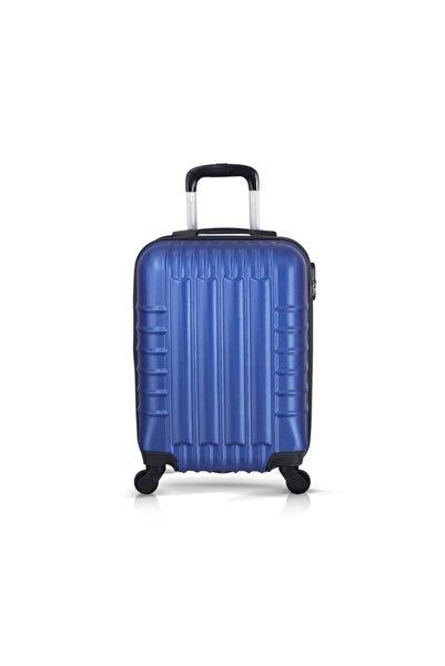 Troya Bags Mavi Unisex Kabin Boy Valiz TR2049