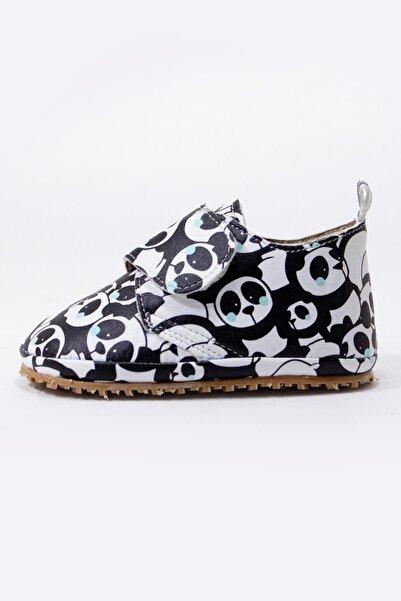 Alpacca Miskin Panda Desenli Ilk Adım Ayakkabısı