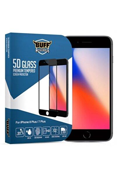 Buff Iphone 8 Plus / 7 Plus  Uyumlu 5d Glass Ekran Koruyucu