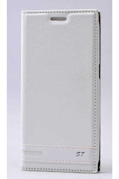 Samsung Galaxy S7 Uyumlu Kılıf Mıknatıs Kapaklı Pu-deri Magnet Pu-leather Serisi