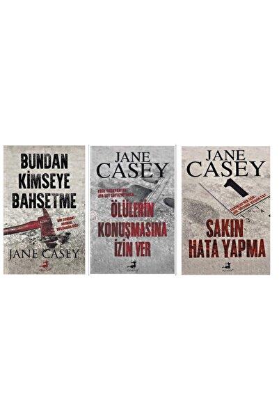 Olimpos Yayınları Jane Casey 3 Kitap Set