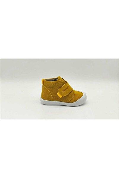 Pandora Lugo Ortopedik Ilk Adım Ve Bebek Ayakkabısı Sarı