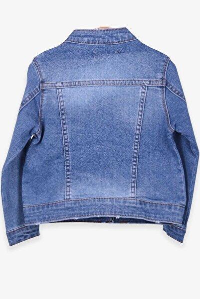 Breeze Kız Çocuk Kot Ceket Açık Mavi (3-6 YAŞ)