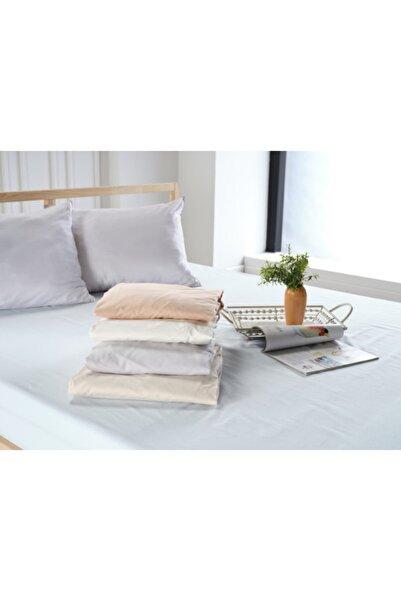 Doqu Home New Cotton Fitted Çarşaf Tek Kişilik Somon