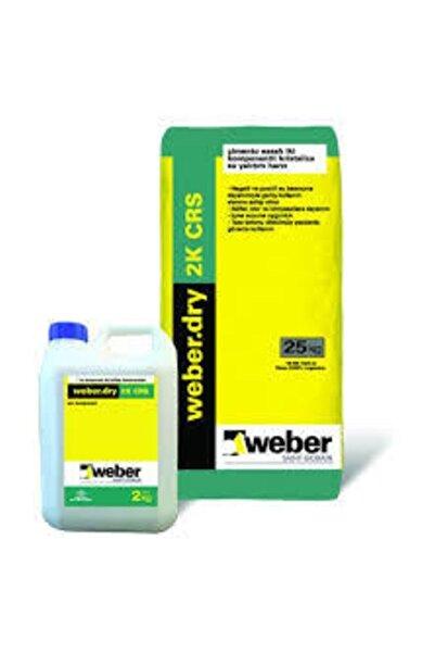 WEBER .dry 2k Crs Çimento Esaslı, Kristalize Su Yalıtım Harcı