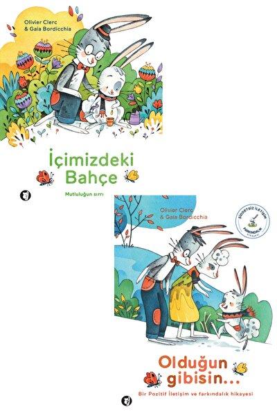 Aylak Kitap 2 Kitap Takım - Olduğun Gibisin - Içimizdeki Bahçe