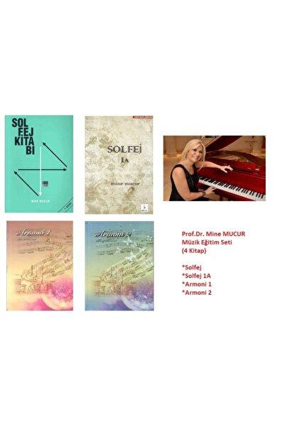 Yazarın Kendi Yayını Solfej, Solfej 1a, Armoni 1, Armoni 2 (prof.dr. Mine Mucur Müzik Eğitim Seti)