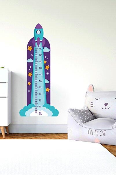 3M Çocuk Odası Dekoratif Boy Cetveli - Folyo - 003 Uzay Serisi A