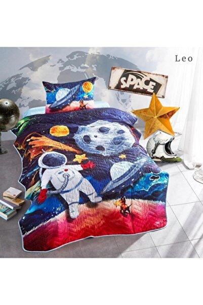 Nevresim Dünyası Club Cotton 3d Tek Kişilik Yatak Örtüsü Leo