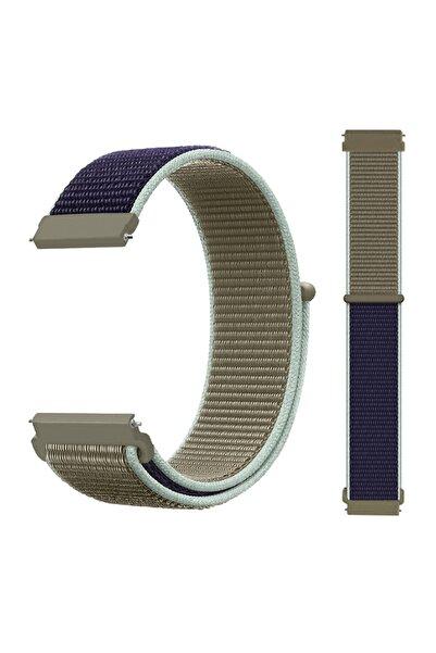CONOCER Huawei Gt / Gt 2 - Uyumlu  Honor Magic Watch 2 46mm - Samsung Gear Watch 46mm Dokuma Kordon Kayış