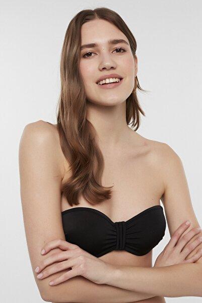 Penti Kadın Siyah Basic Pop Bikini Üstü