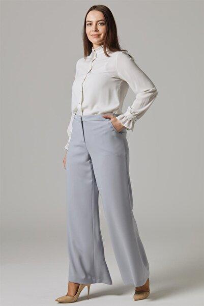 Doque Kadın Pantolon Gri Do-a9-59011-07