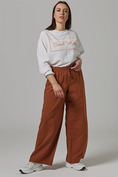 Doque Taba Kadın Pantolon