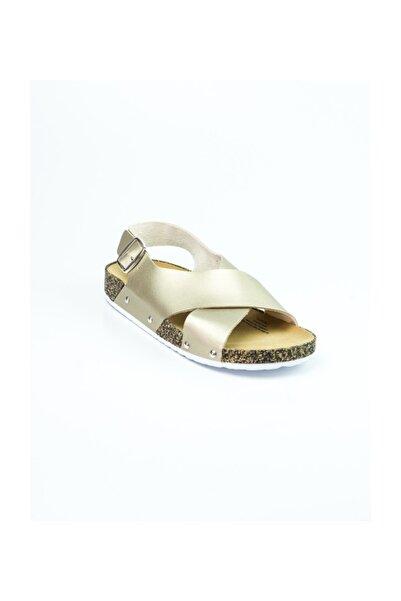 Polaris 315539.z Altın Kadın Sandalet Altın-36