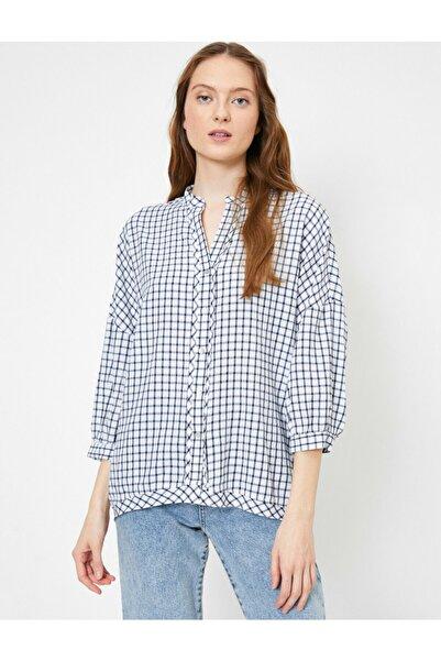Koton Kadım Kareli Gömlek