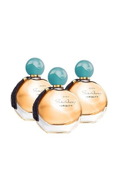 AVON Far Away Infinity Edp 50ml Kadın Parfüm Üçlü Set