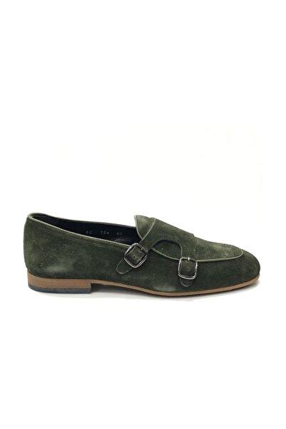 TETRİ Haki Süet Klasik Ayakkabı