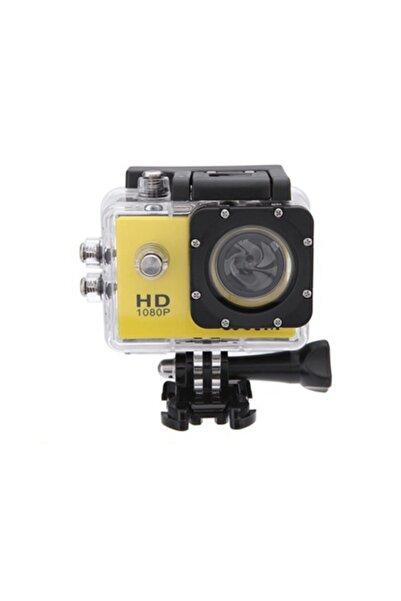 Angel Eye Eye 1080p Hd Su Geçirmez Aksiyon Kamerası Sarı