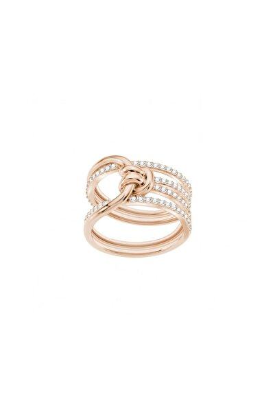 Swarovski Kadın Yüzük Lifelong:Ring W Cry/Ros 52 5402432